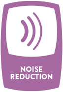 NOISE REDUCTION - Make your home a peaceful respite from the world outside.